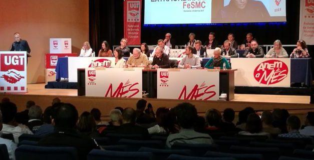 Carlos González Quirós, nuevo secretario general de FeSMC-UGT Catalunya con el 57% de los votos